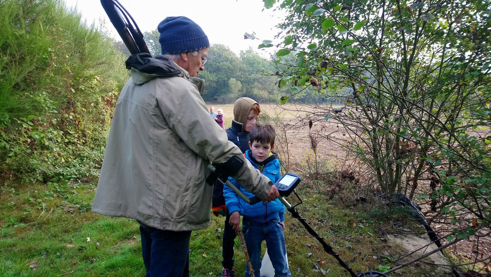 Recherche de bornes au Petit Albert, automne 2018