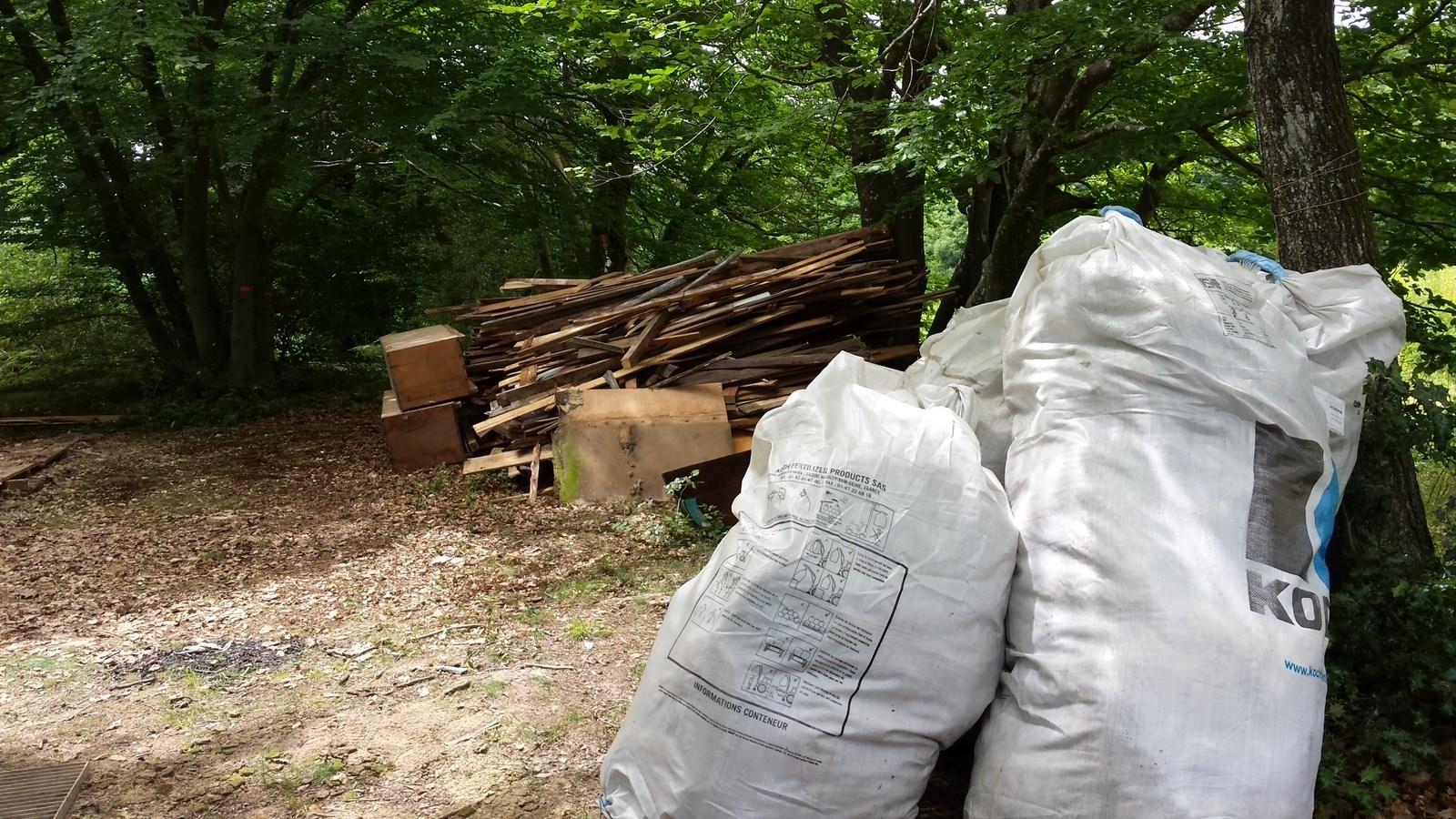 Tri des déchets, été 2017