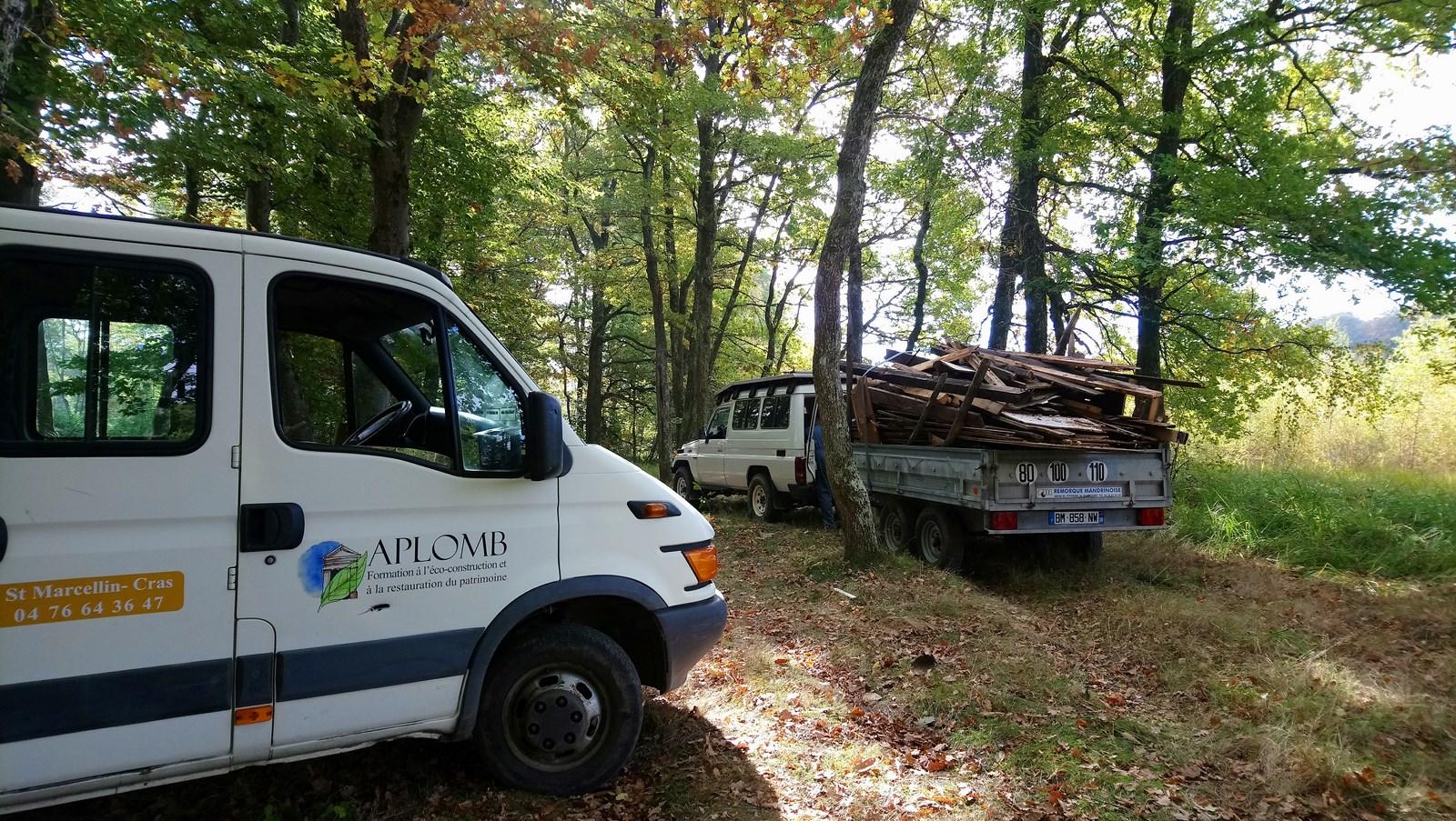 Evacuation de déchets en partenariat avec une association