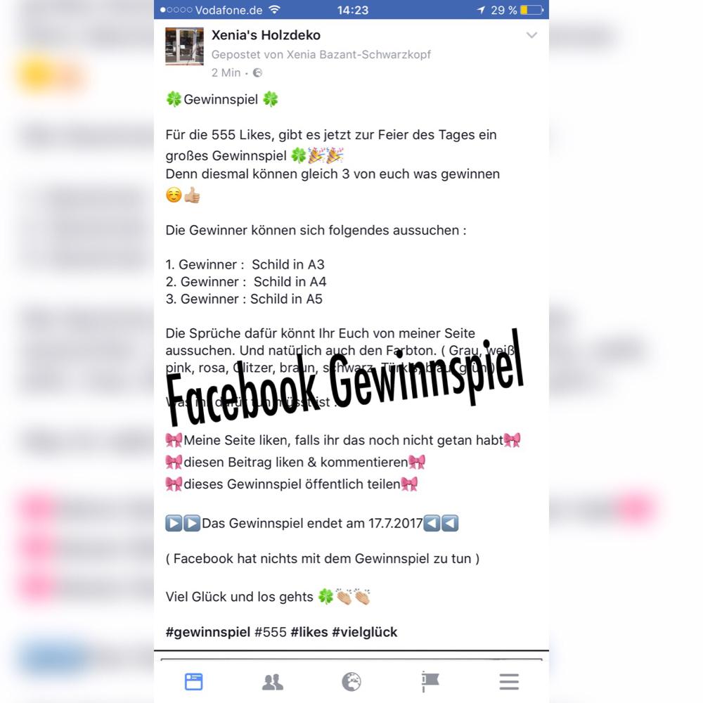 Wer Facebook Hat, Kann Gerne An Dem Gewinnspiel Teilnehmen :) Einfach Auf  Das Bild Klicken .