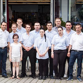 Das gesamte San Remo Team