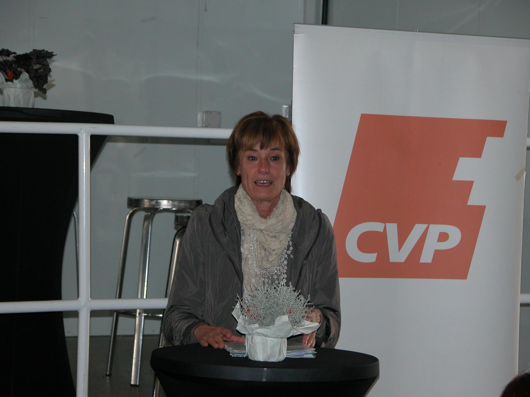 Ständeratskandidatin Ruth Humbel