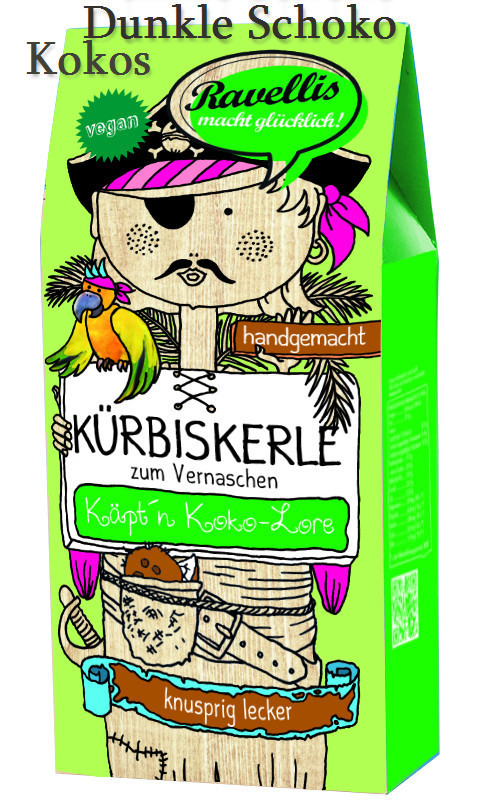 Kürbiskerne Dunkle Schokolade Kokos