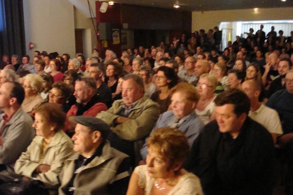 Le public très attentif