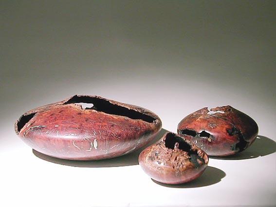 Pièces creusées - Coolibah - 20 à 50 cm dia - 2005