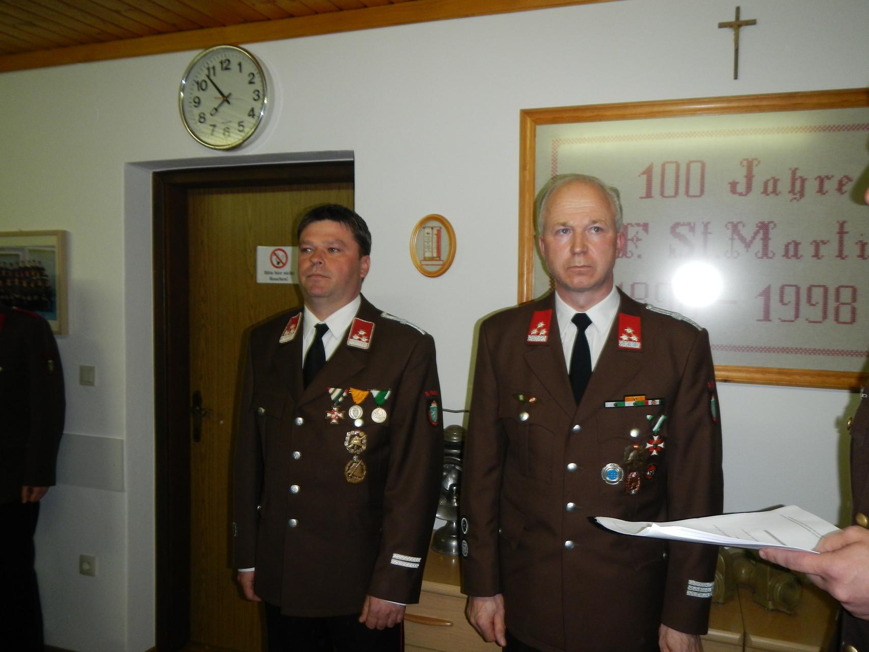 Beförderung zu Brandmeister