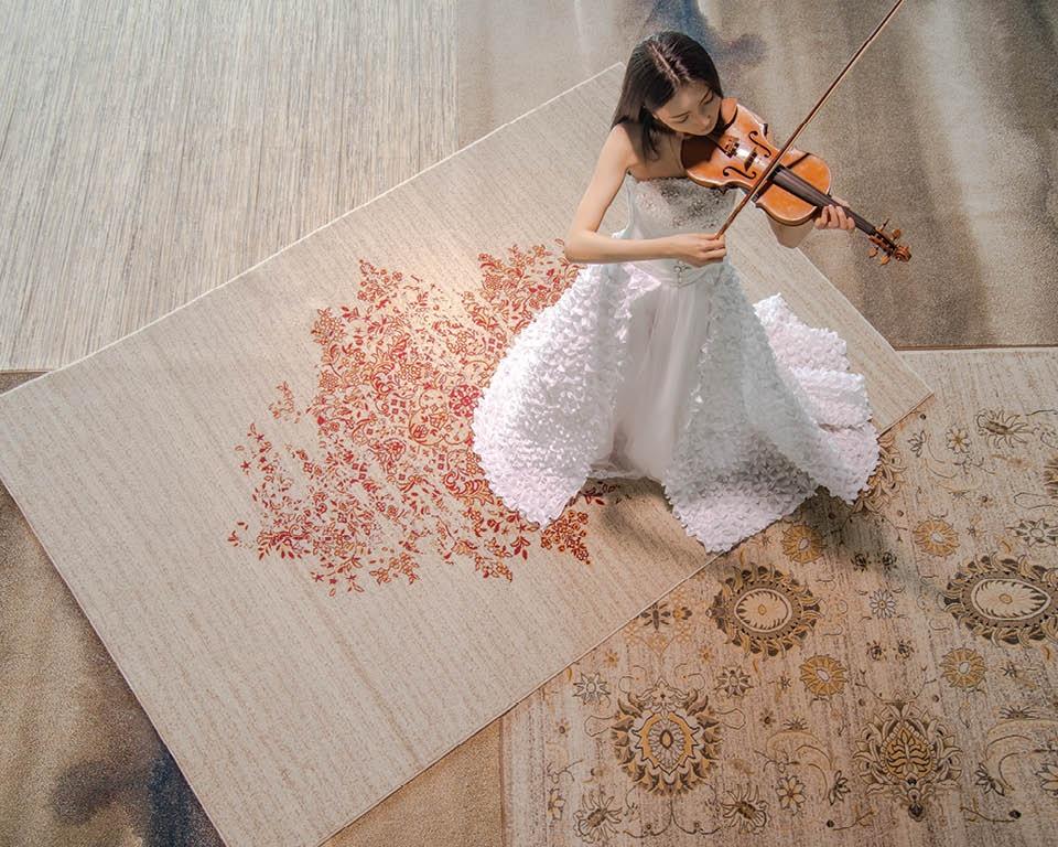 titan Teppich aus Wolle