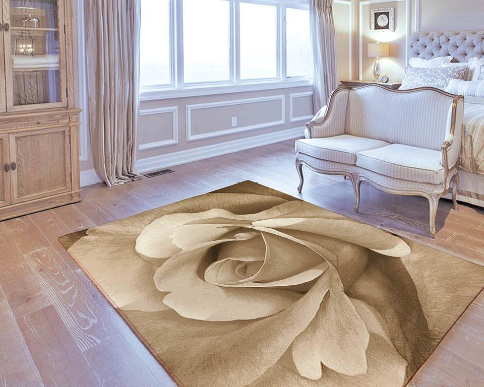 Rose auf dem Teppich