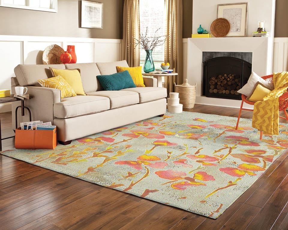 Mode modern Teppich