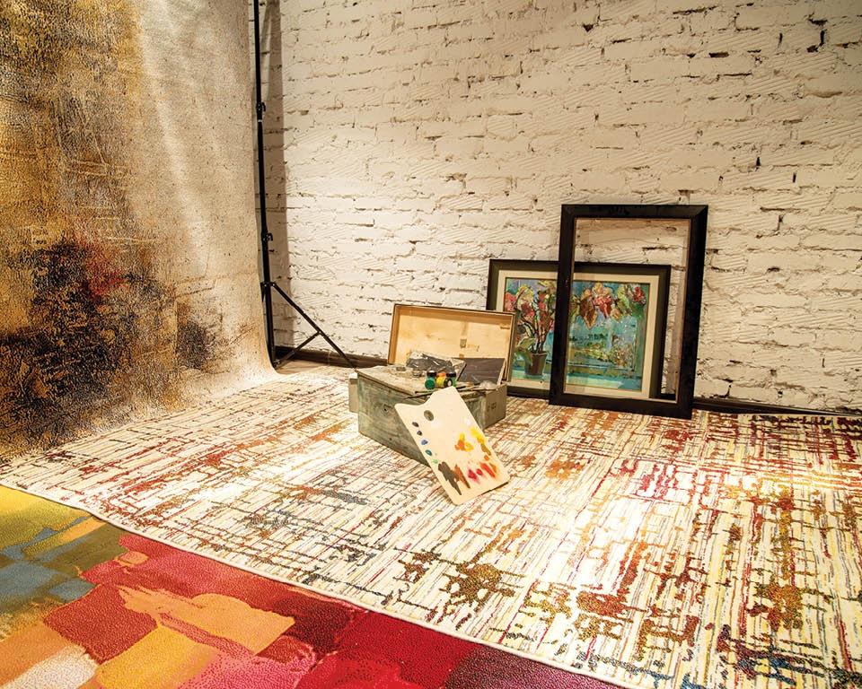 Kunst auf dem Teppich