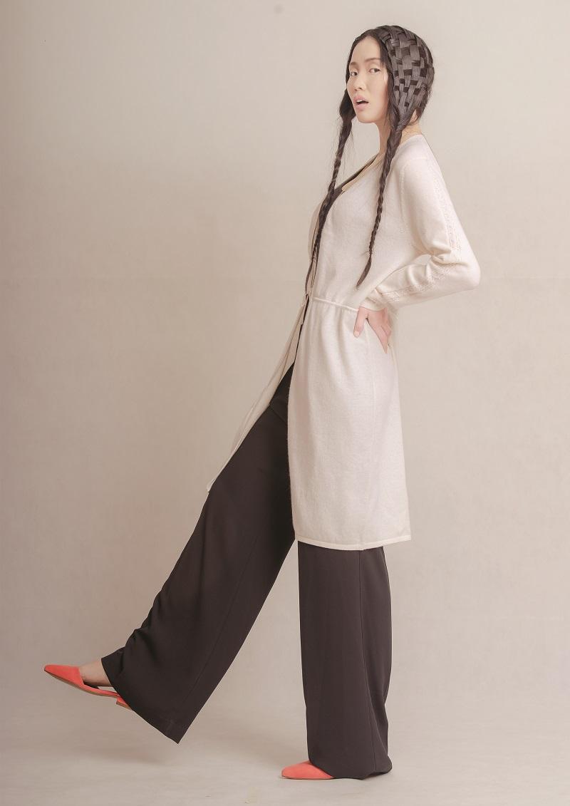 Cashmere Kleid Top