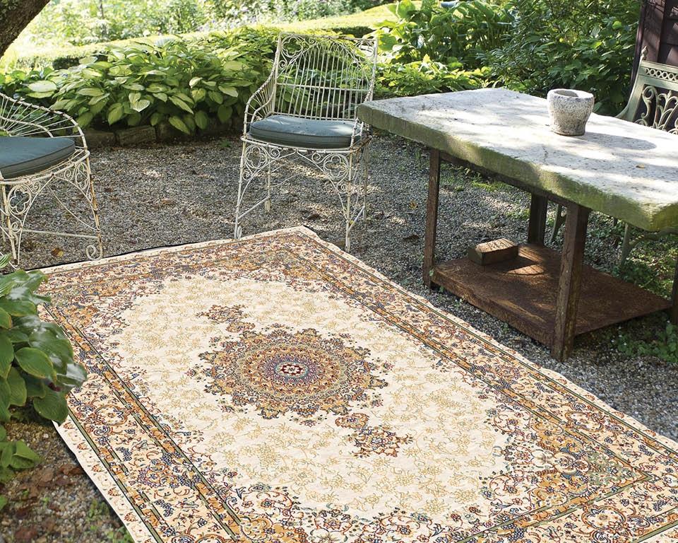 Garten Teppich aus Wolle