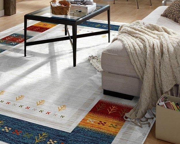 Ethno Exot Teppich aus Wolle
