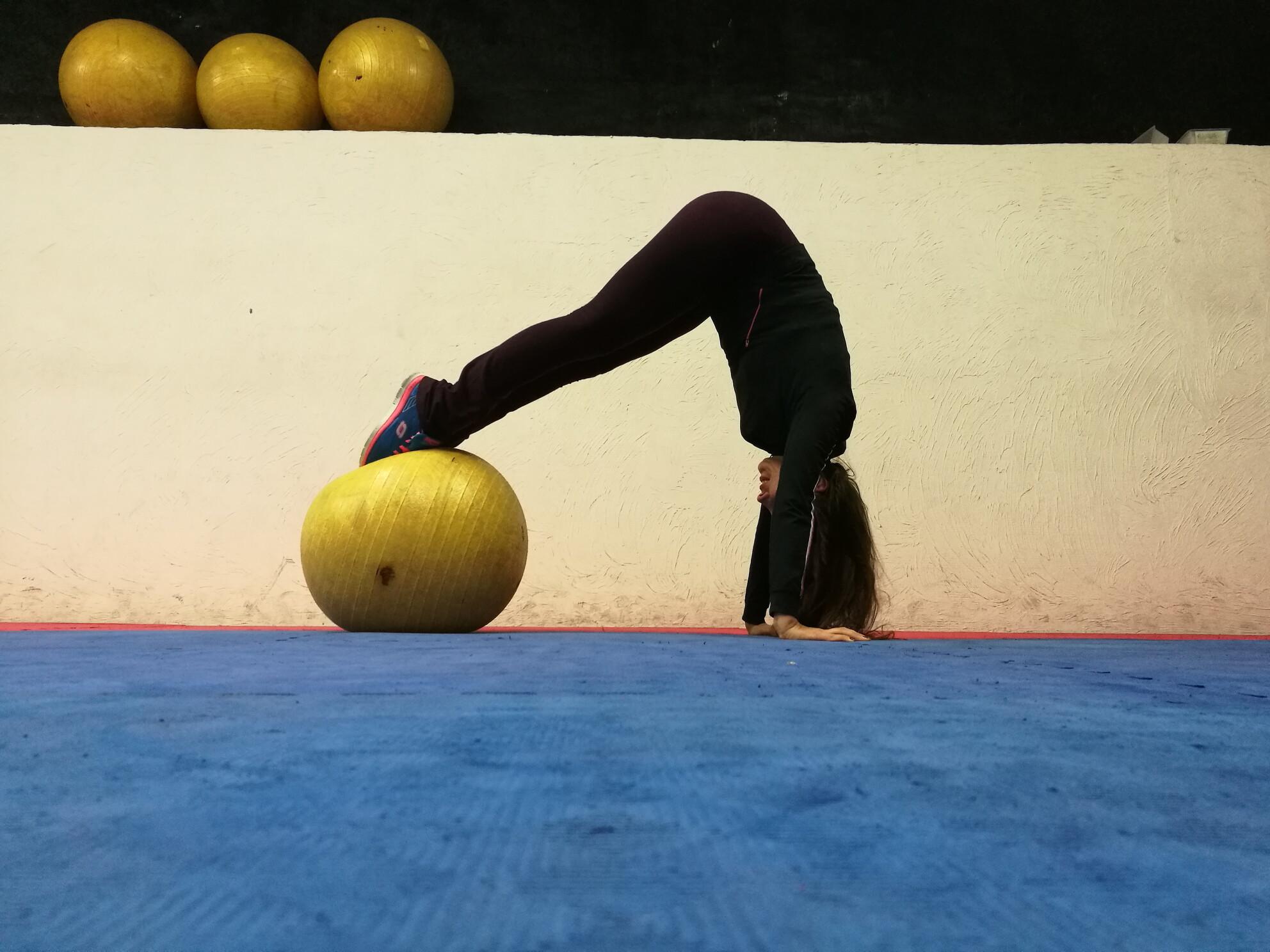exercice abdominal...