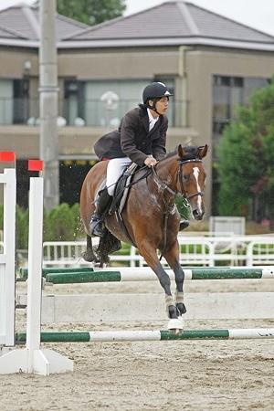 下谷田さん、選手権貸与馬