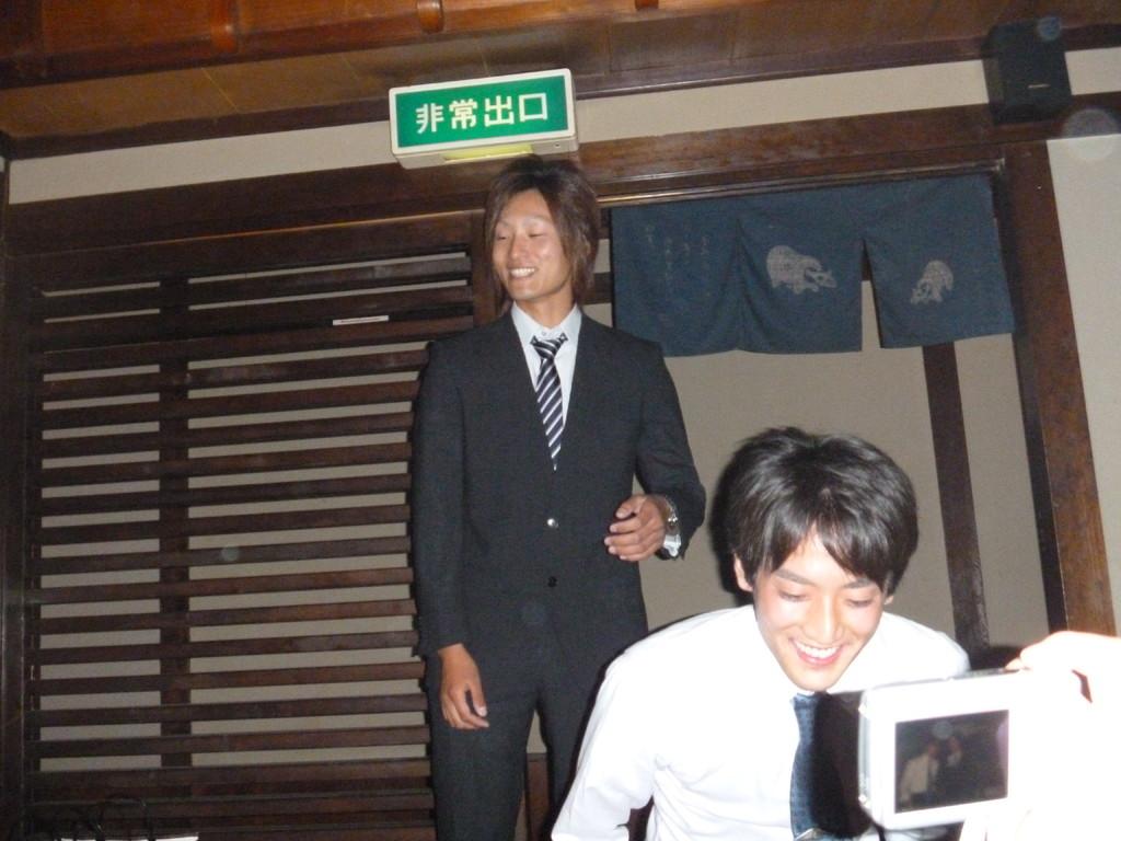 萩原さんのスピーチが終了したようです。