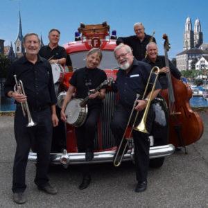 Sonntag: Konzert der Alabama Jazz Band an der Schulstrasse