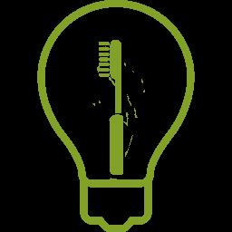 Glühlampe für Tipp des Monats