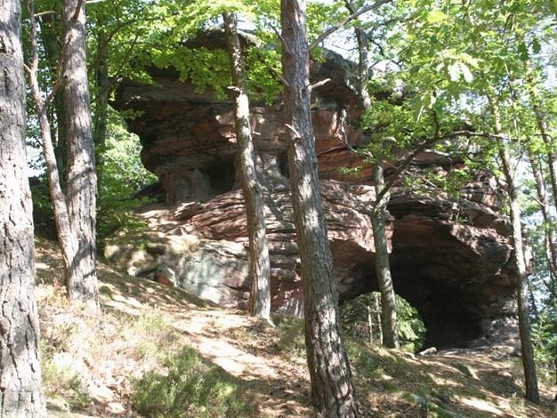 Felsen im Pfälzerwald