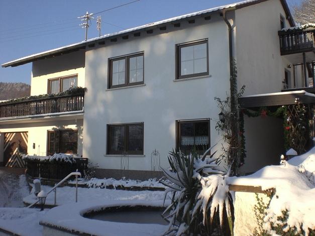 4 Sterne Ferienwohnung Familie Meyerhöfer, Eußerthal, im Winter
