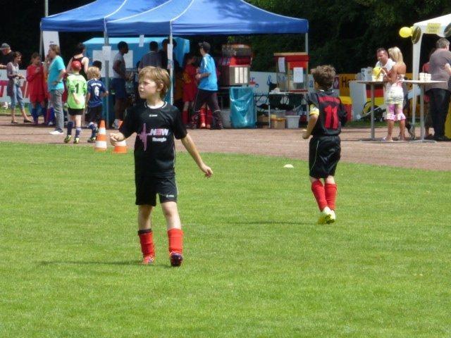 Achtelfinale beim Lukas Podolski Cup