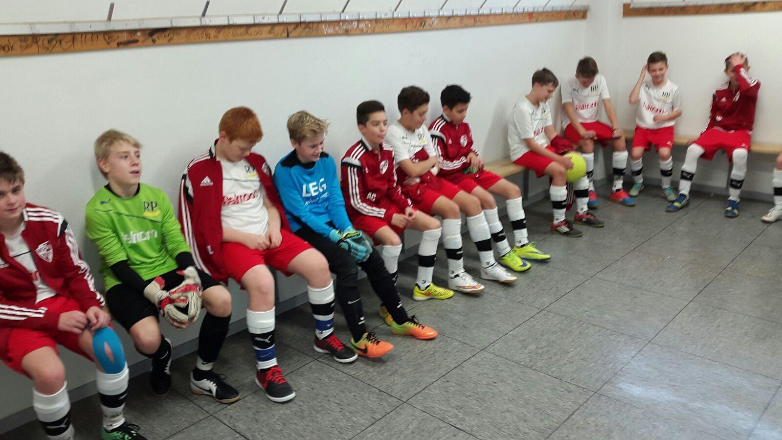 27.12.2015 Vorrunde Hallenstadtmeisterschaft - 1. Platz