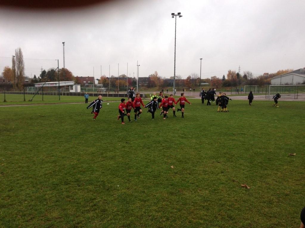 Sport-Breuer-Cup 2012 am 18.11.2012 gegen SC Kapellen-Erft
