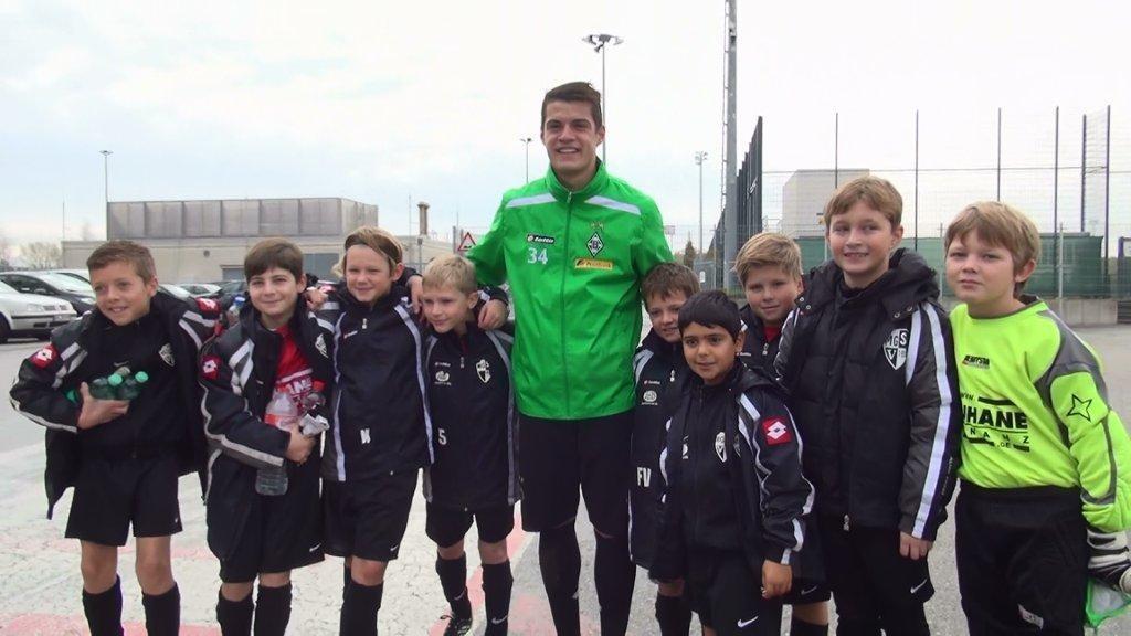 Unser Freundschaftsspiel gegen die U9 von Borussia MG am 04.11.2012