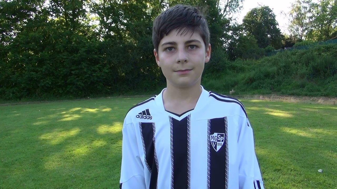 Alessio der Fußballer