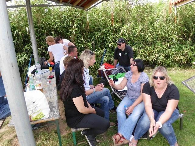"""Jahresabschlusstour 2012 zum """"Irrgarten"""" in Kevelaer"""