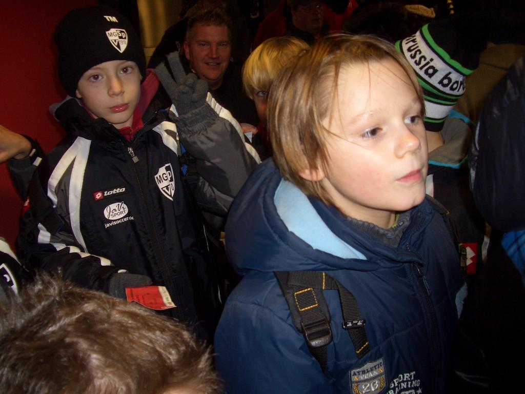 Unser Ausflug nach Düsseldorf zum Stadtwerke Wintercup 2012