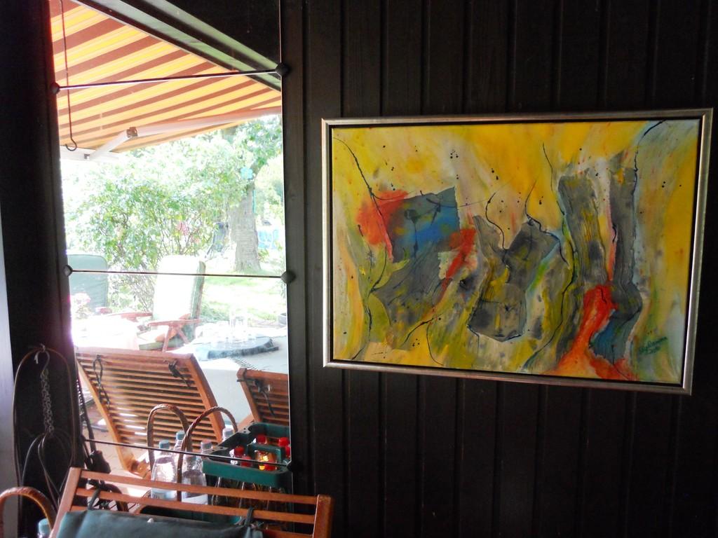offene Ateliers auf der Terrasse