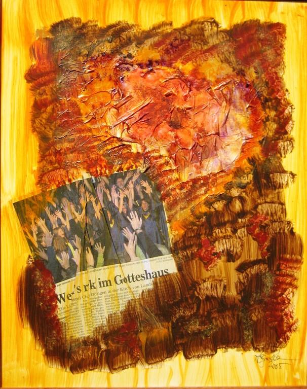 kirchlicher Rock 40x50 cm 2005