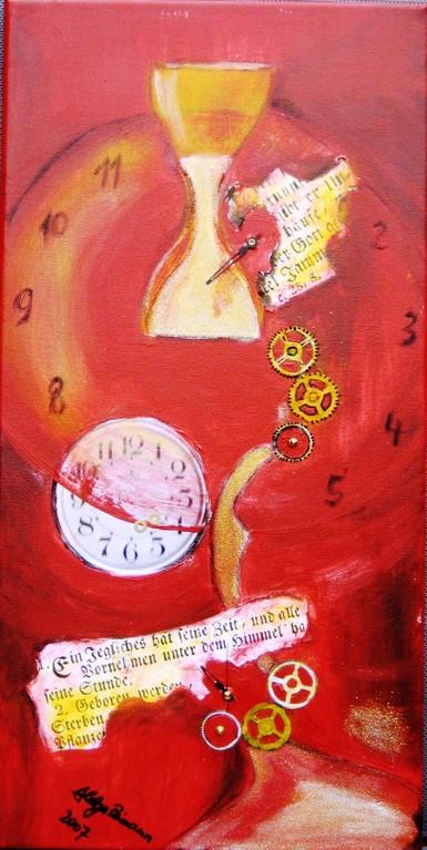 Zeitreise 30x60 cm 2007