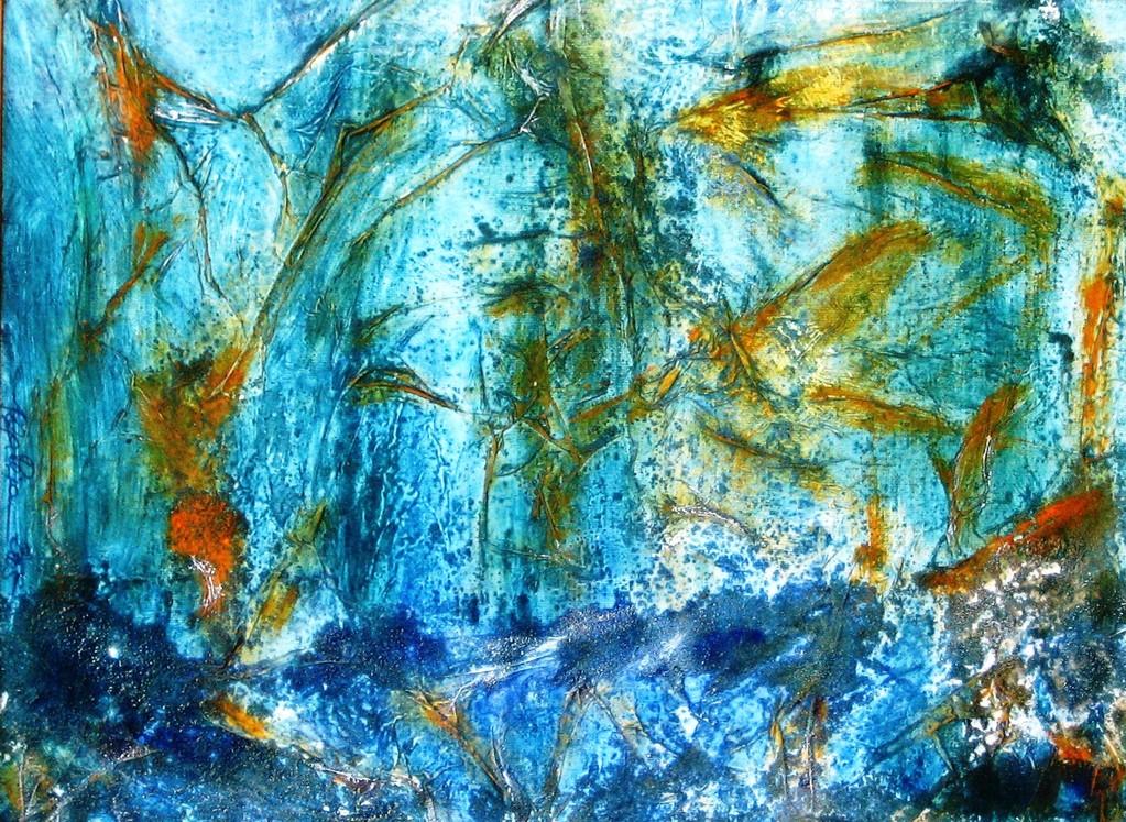 kindlicher Zauberwald 50x40 cm 2005