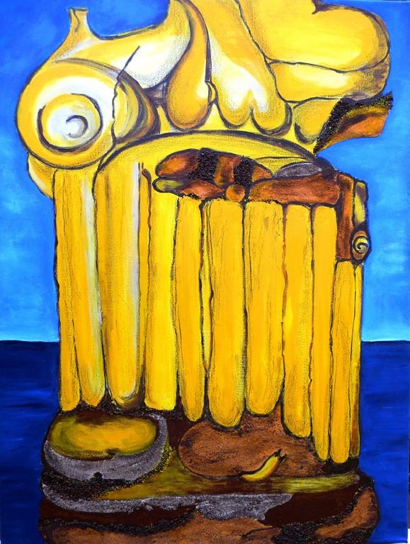 Griechische Brüchigkeiten 60x80 cm 2010