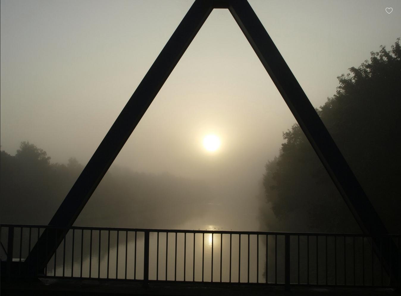 Blick von Brücke 112 bei km 78,430