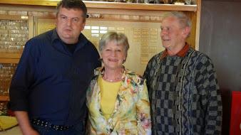 von links: Martin Finkenzeller, Tilly Grubwinkler, Sepp Burghard