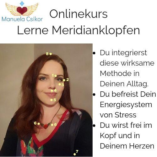 Lerne Meridianklopfen EFT im Onlinekurs