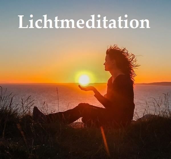 Eine einfache Anleitung für eine Lichtmeditation für Anfänger kurz Sonne Energie