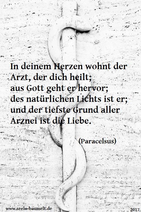 Paracelsus, Zitat, Zitate Leben Liebe Glück, Seele baumelt, Seele baumeln lassen, Ganzheitliche Gesundheit