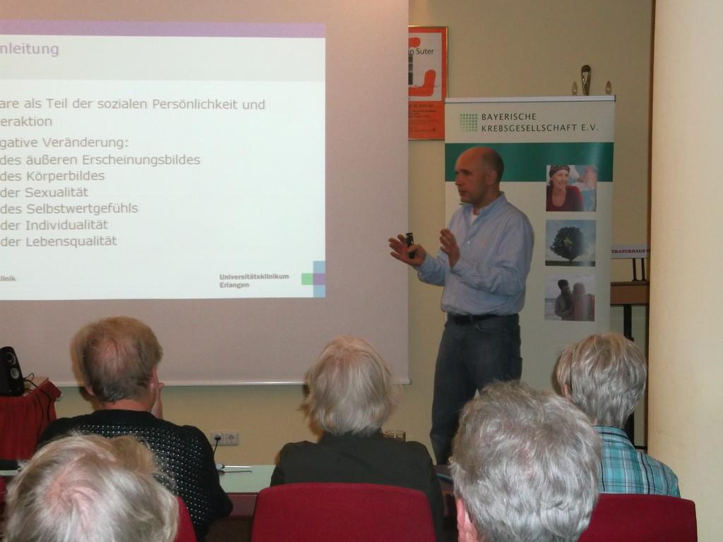 Herr Prof. Matthias Beckmann sehr engagiert