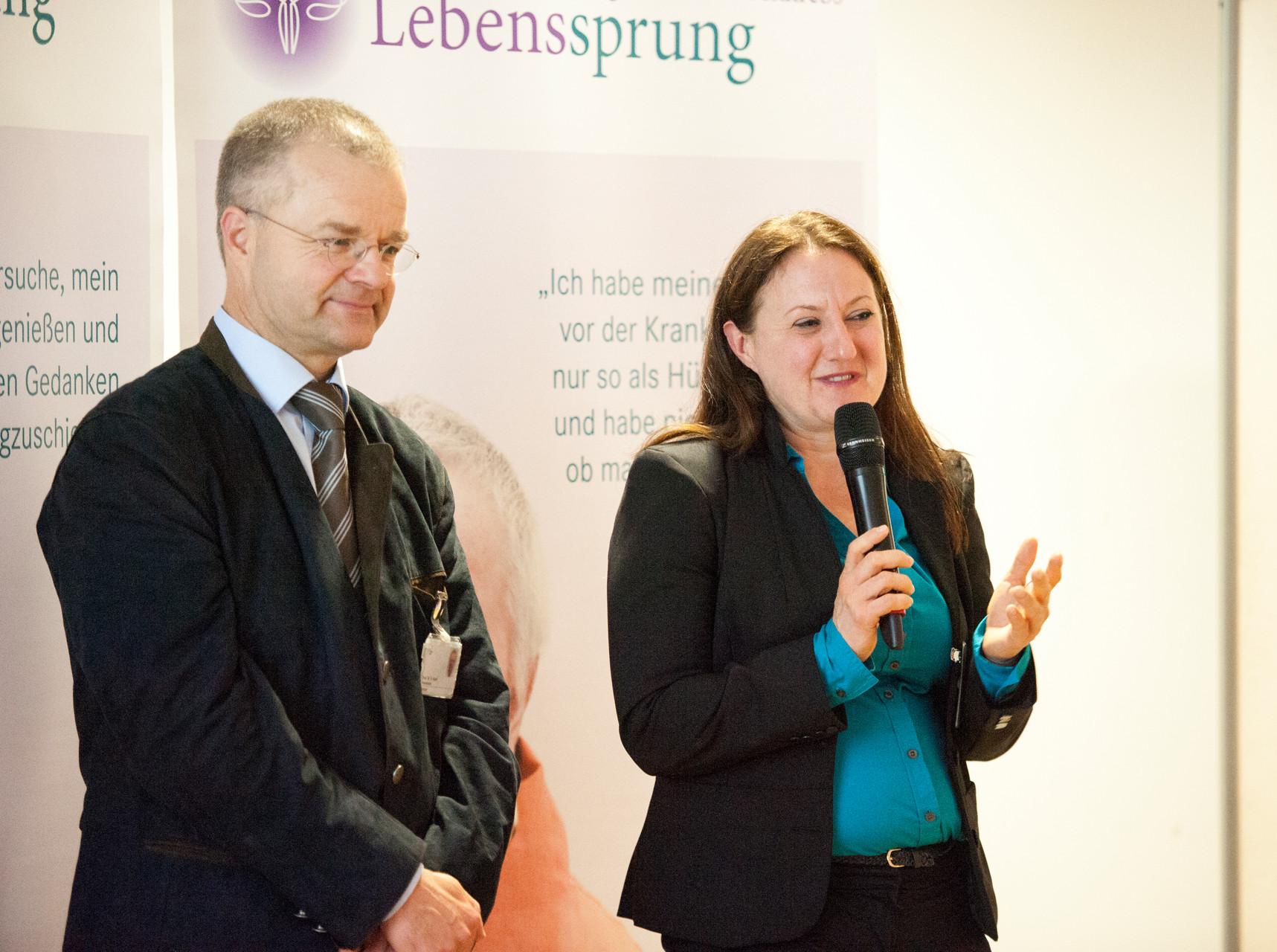 Prof.Hanf und Frau Dipl.Psych. Nitsche