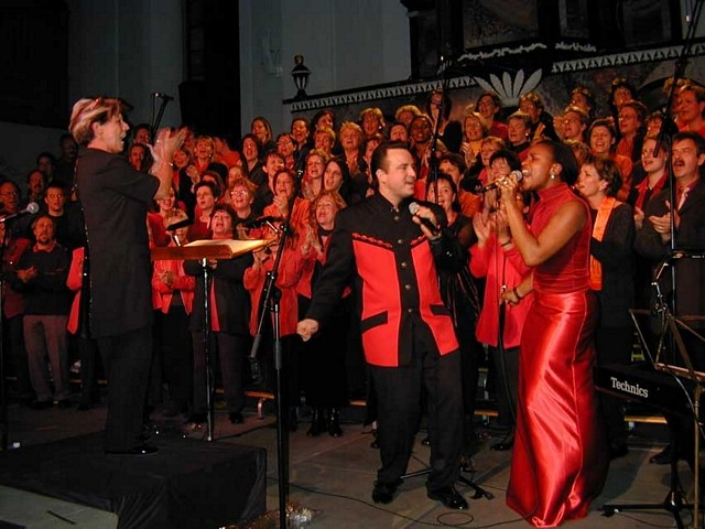 Benefiz Konzert in Uster mit Janet Dawkins und Frank Tender