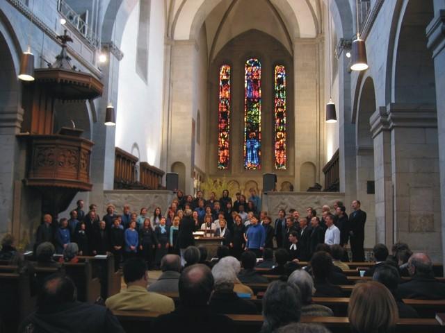Konzert im Grossmünster Zürich