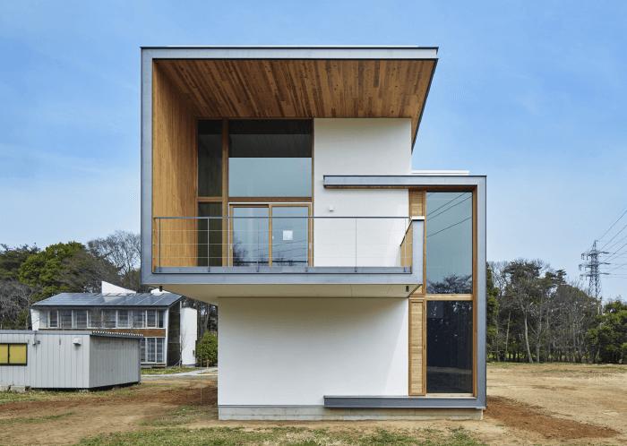 CLTパネルによる住宅例