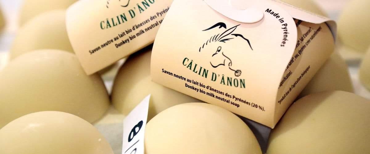Câlin d'ânon, savon au lait d'ânesse 100% pyrénéen