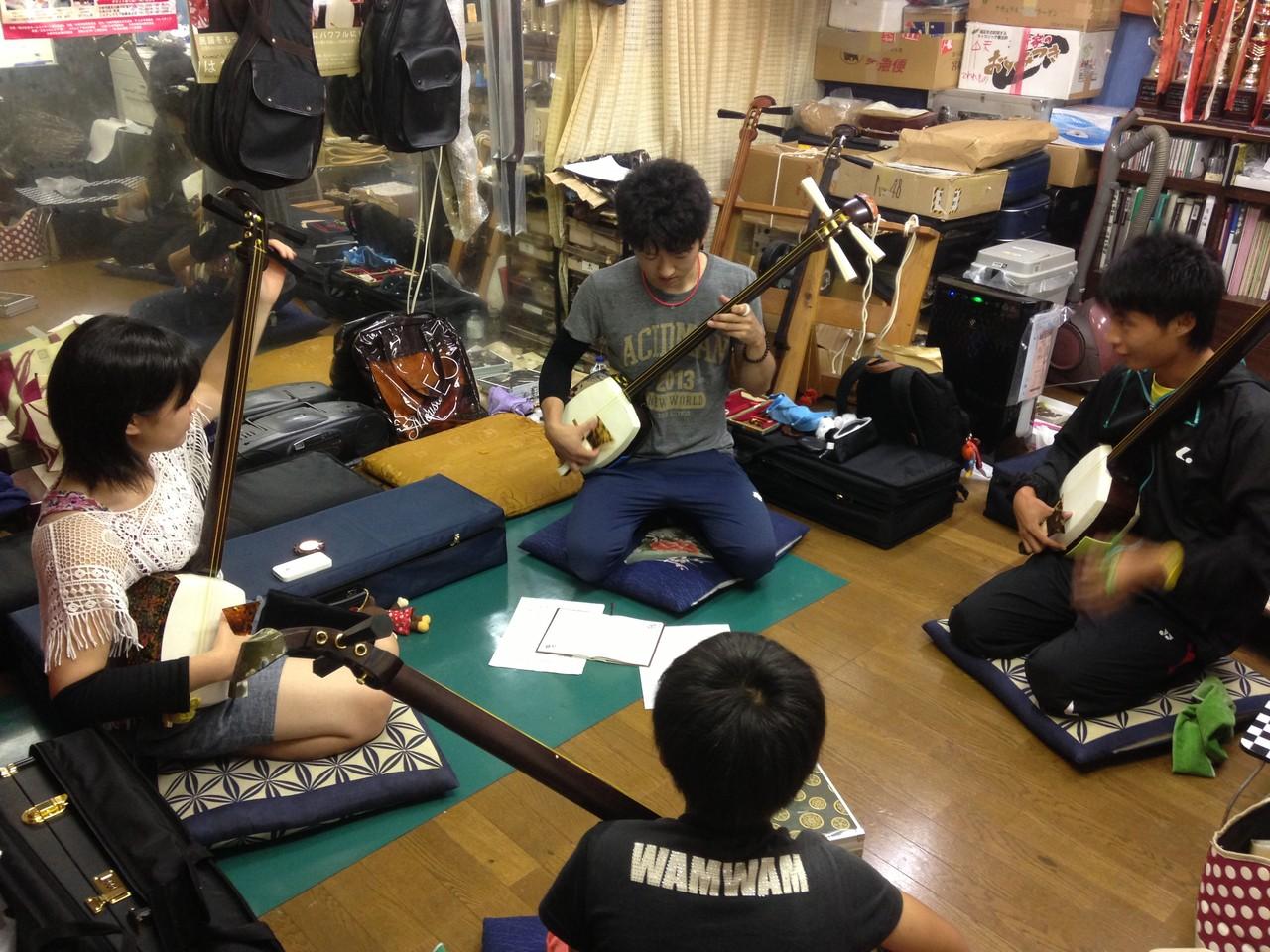 名古屋大会練習風景