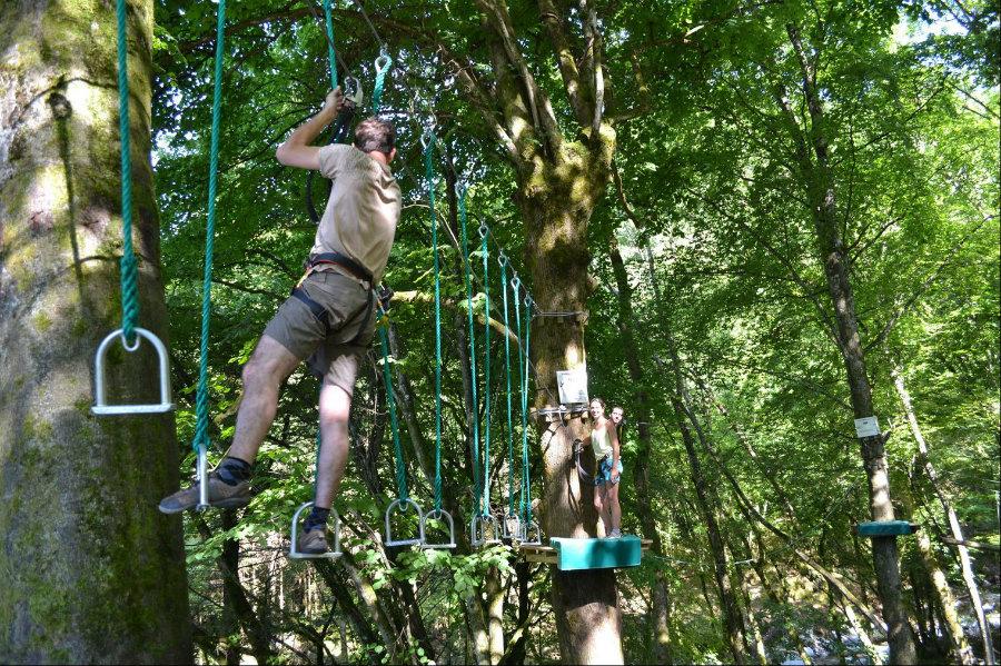 Parcours outdoor pour adultes et enfants dès 8 ans