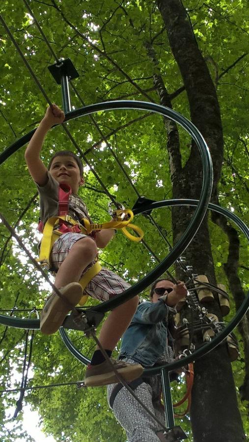 Parcours aventure pour enfants